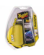 MEGUIAR'S DA Polishing Power Pack πακετο DA με σφουγγαρι & αλοιφη γυαλισματος