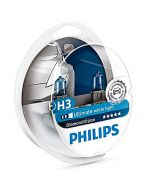 PHILIPS Diamond Vision H3 σετ λάμπες 12v/55w