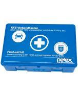 PETEX MALTESER Φαρμακείο πρώτων βοηθειών αυτοκινητου DIN 13164 σε πλαστικο κουτι