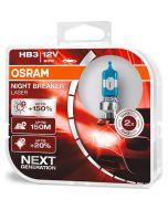 ΛΑΜΠΕΣ ΑΥΤΟΚΙΝΗΤΟΥ ΣΕΤ HB3 OSRAM NIGHT BREAKER LASER 12V 60W +150m +150% MADE IN USA