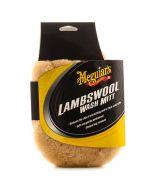 MEGUIAR'S Lambswool Wash Mitt Γάντι πλυσίματος από αρνίσιο τρίχωμα Α7301