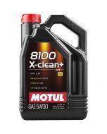 MOTUL 8100 X-clean+ 5W30 λάδι 100% συνθετικό 5lt