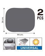 SUMEX Κουρτινάκια αυτοκινήτου Super UV 44x36cm με τριπλό στρώμα προστασίας