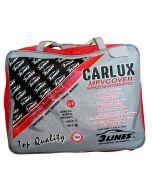 CARLUX L1 4,65×1,75×1,50m Κουκούλα αυτοκινήτου αδιάβροχη-αντηλιακή-αντιπαγωτική προστασία-μαλακή εσωτερική επένδυση-άριστη ποιότητα.
