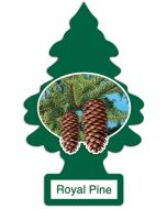 Little Trees Royal Pine Made in USA air freshener