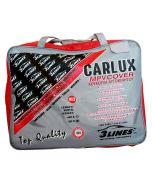 CARLUX M2 4,45×1,70×1,50m Κουκούλα αυτοκινήτου αδιάβροχη-αντηλιακή-αντιπαγωτική προστασία-μαλακή εσωτερική επένδυση-άριστη ποιότητα.