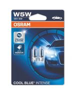 ΛΑΜΠΕΣ ΑΥΤΟΚΙΝΗΤΟΥ ΣΕΤ W5W OSRAM COOL BLUE INTENSE XENON LOOK 4000KELVIN MADE IN GERMANY