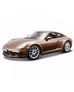 Bburago PLUS Porsche 911 Carrera S Καφέ 1/24