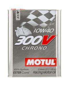 Motul 300V 2lt 100% συνθετικό Chrono 10W40