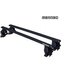 FIX051G-Steel Aero Μπάρες οροφής MENABO TEMA ολοκληρωμένο KIT
