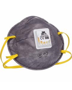 3Μ Μάσκα ενεργού άνθρακα με φίλτρο (9914)