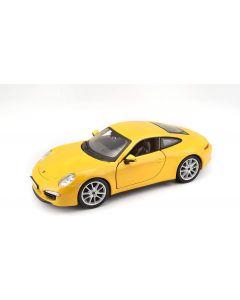 Bburago PLUS Porsche 911 Carrera S Κίτρινο 1/24
