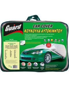 Κουκούλα αυτοκινήτου GUARD MEDIUM H/B αδιάβροχη-αντηλιακή-αντιπαγωτική προστασία-μαλακή εσωτερική επένδυση-άριστη ποιότητα.