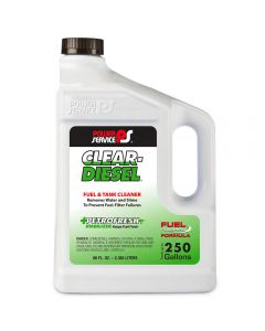 POWER SERVICE CLEAR-DIESEL FUEL & TANK CLEANER 2360ml 9280-06