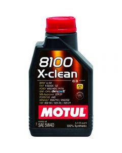 MOTUL 8100 X-CLEAN 5W40 1lt