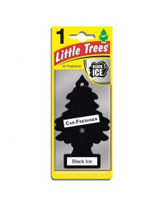 Little Trees Black Ice Made in USA air freshener