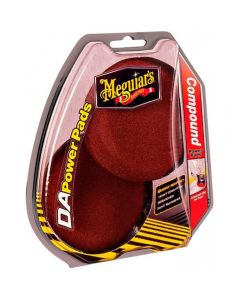 MEGUIAR'S DA Compound Power Pads πακετο DA με σφουγγαρι κοψίματος