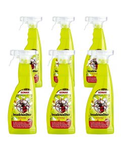 6 PACK SONAX Καθαριστικό εντόμων Insect Star 750ml Made in Germany 233400