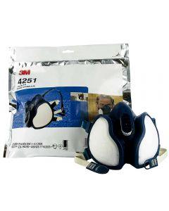 3M™ 4251 FFA1P2 Μάσκα με ενσωματωμένα φίλτρα