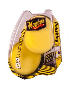 MEGUIAR'S DA Polishing Power Pads πακετο DA με σφουγγαρι γυαλισματος