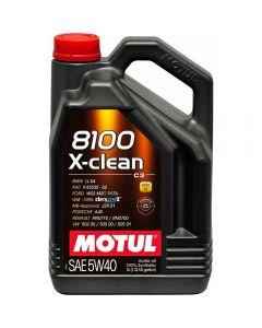 MOTUL 8100 X-CLEAN 5W40 5lt