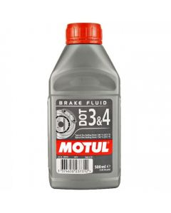 Motul υγρά φρένων DOT 3-4 500ml