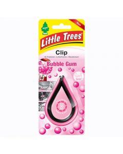 Αρωματικό αυτοκινήτου Little Trees Clip σε άρωμα Bubble Gum Made in USA air freshener.