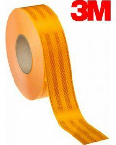 3M Κίτρινη αντανακλαστική ταινία σήμανσης 55mm x 1m 983-71