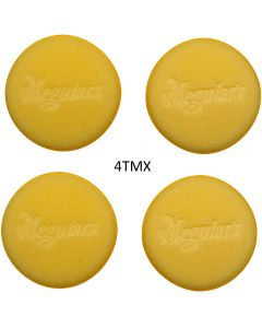 Meguiar's ® Soft Foam applicator pad 4PCS 4ΤΜΧ