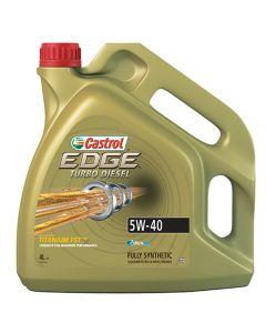 CASTROL EDGE TURBO DIESEL 5W40 4lt