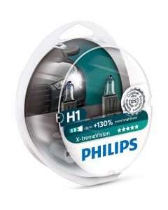 PHILIPS H1 X-treme Vision +130% set