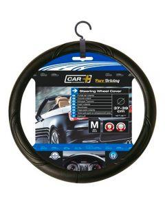 CAR+ κάλυμμα τιμονιού μαύρο medium 37-39 cm 2505048