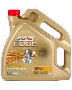 CASTROL EDGE 5W40 TITANIUM FST FULL SYNTHETIC 4LT