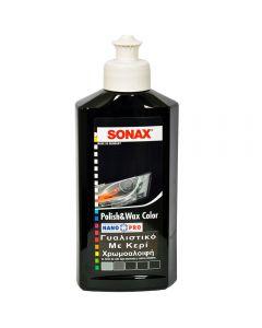 SONAX Γυαλιστικό & Κερί με χρώμα μαύρο Nano 250ml