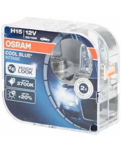 OSRAM H15 12V 55/15W COOL BLUE INTENSE XENON LOOK 3700K