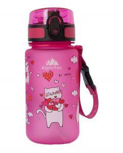 ΠΑΓΟΥΡΙ ALPIN TEC CATS (ΓΑΤΕΣ) ΡΟΖ BPA FREE 350ml C-350PK-4