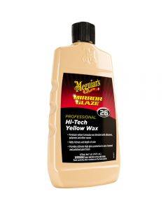 MEGUIAR'S M26 MIRROR GLAZE® HI-TECH YELLOW WAX, 16 OZ 473ml