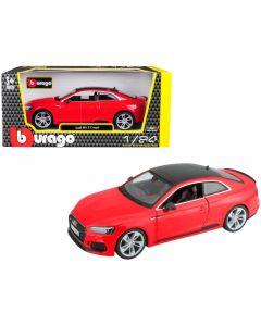 Bburago Audi RS 5 Coupe 2019 Κόκκινο 1/24