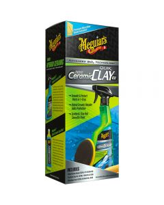 Meguiar's Hybrid Ceramic Quik Clay Kit – Get a Smooth Finish with Hybrid Ceramic Protection G200200