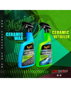 Meguiar's Hybrid Ceramic Wax G190526 768 ML + Hybrid Ceramic Detailer G200526 768 ML