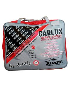CARLUX CF2 4,05×1,65×1,70m Κουκούλα αυτοκινήτου αδιάβροχη, αντηλιακή, αντιπαγωτική προστασία, μαλακή εσωτερική επένδυση, άριστη ποιότητα.