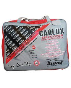 CARLUX CF3 Κουκούλα αυτοκινήτου 4,3Χ1.95Χ1.85 αδιάβροχη, αντηλιακή, αντιπαγωτική προστασία, μαλακή εσωτερική επένδυση, άριστη ποιότητα.