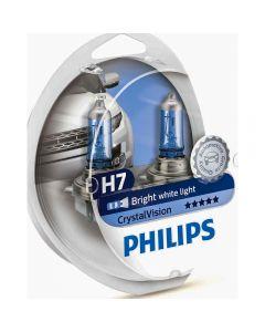 PHILIPS H7 Crystal  Vision σετ λάμπες 12v/55w