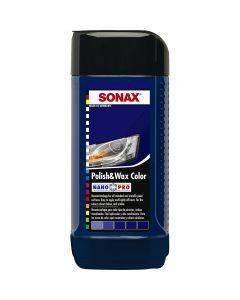 SONAX Γυαλιστικό με κερί & χρώμα μπλε Nano 250ml