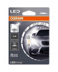 OSRAM 31mm SV8.5 LEDriving STANDARD – Suitable replacement for Festoon 1τμχ