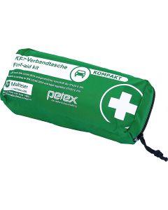 PETEX DIN 13164:2014 Φαρμακείο πρώτων βοηθειών αυτοκινητου  σε υφασματινο τσαντακι