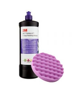 3M ΑΛΟΙΦΗ Perfect-It 1-Step Finishing Material 946ml 33039 + 3M™ Σφουγγάρι Perfect-It™ 1-Step Foam Finishing Pad 33042