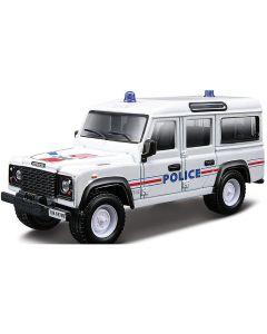 Bburago Emergency Land Rover Police  1/43