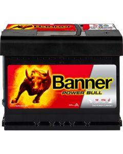 Μπαταρία BANNER POWER BULL 62Ah 550A P6219