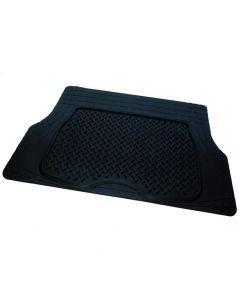 Πατάκι πορτ παγκαζ λάστιχο126X80cm BLACK